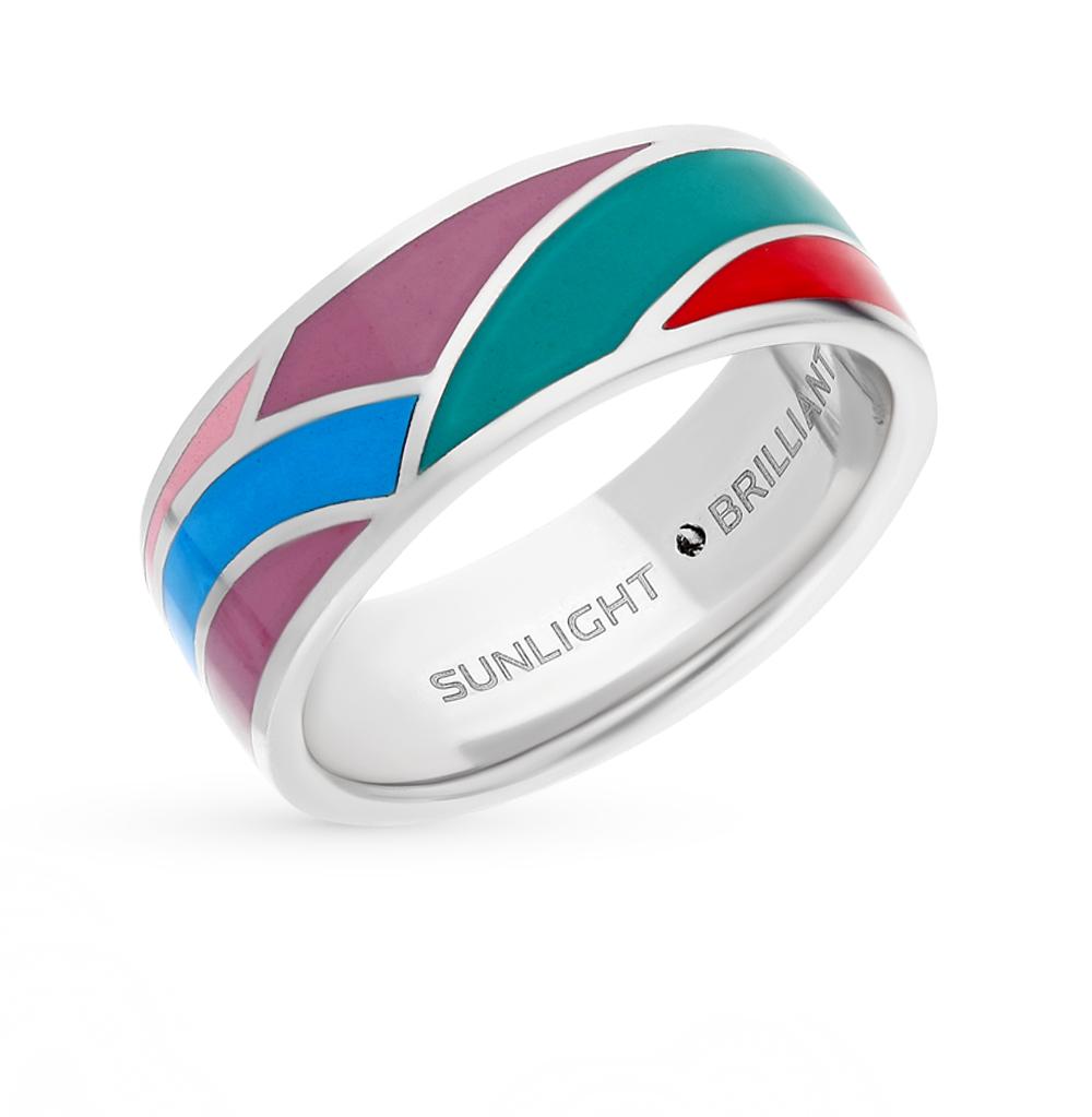 Фото «кольцо с эмалью и бриллиантами»