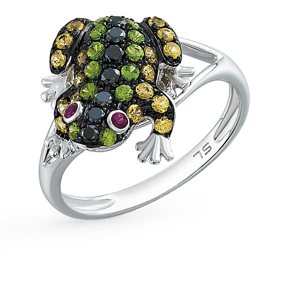 Фото «золотое кольцо с гранатами и рубинами»