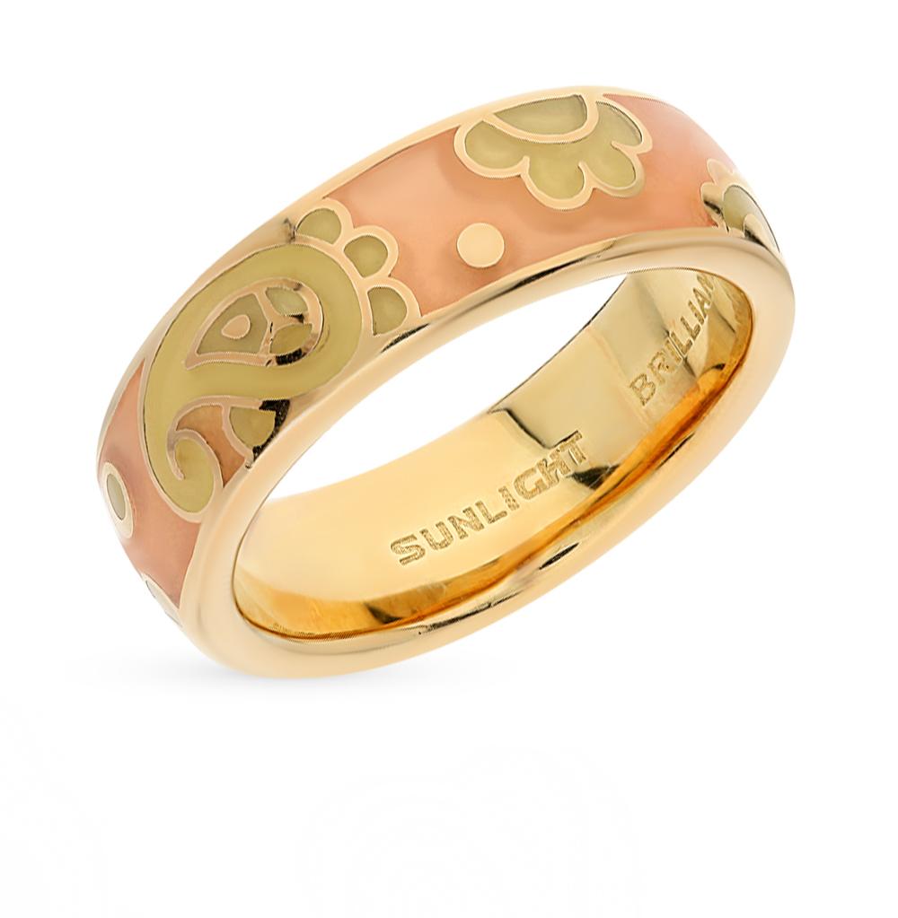 Фото «серебряное кольцо с витражными эмалью»