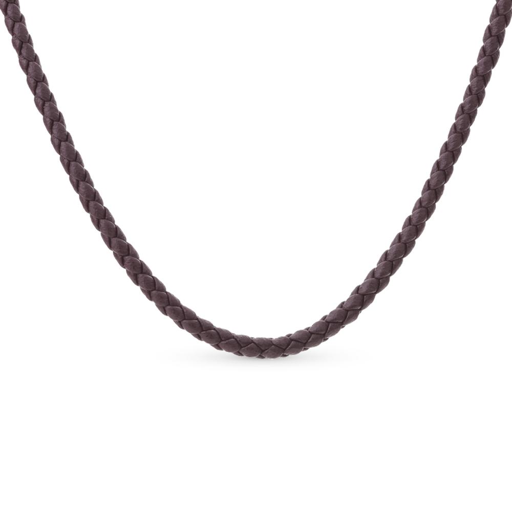 Фото «шейное украшение из кожи и серебра»
