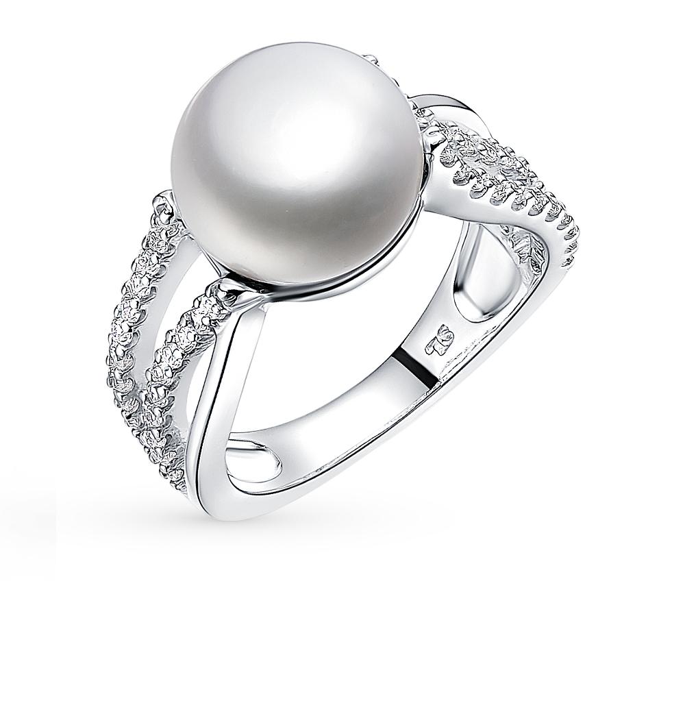 Фото «золотое кольцо с бриллиантами, фианитами и изумрудами»