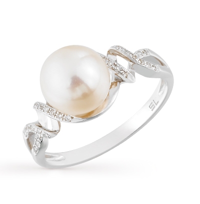 Фото «золотое кольцо с бриллиантами, аметистами, гранатами, цитринами, топазами, жемчугом и хризолитами»