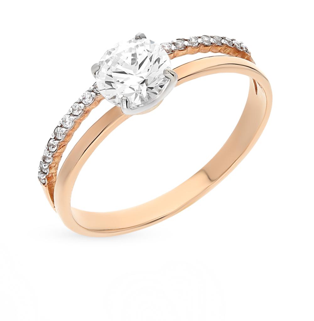 Фото «золото кольцо с кристаллами swarovski»
